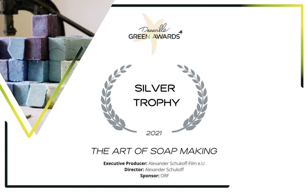 SILVER AWARD AT DEAUVILLE